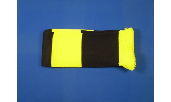 Black and Yellow Bar Scarf