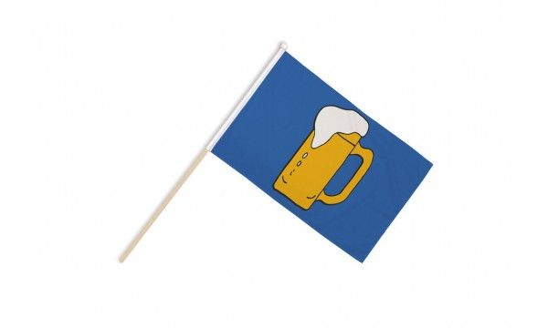 Beer Hand Flags