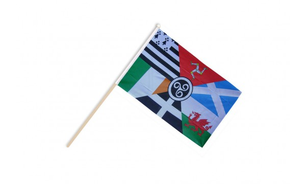 Celtic Nations Hand Flags