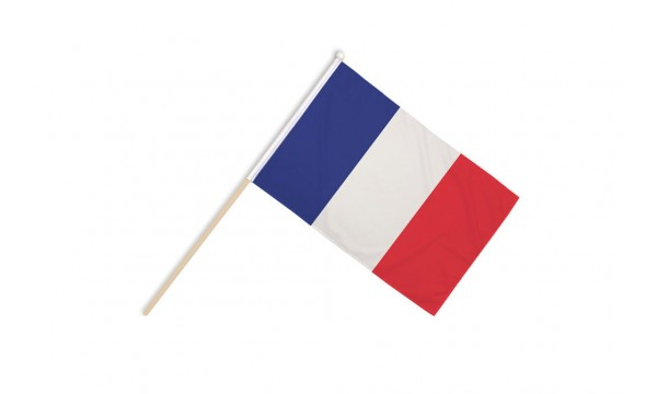 France Hand Flags