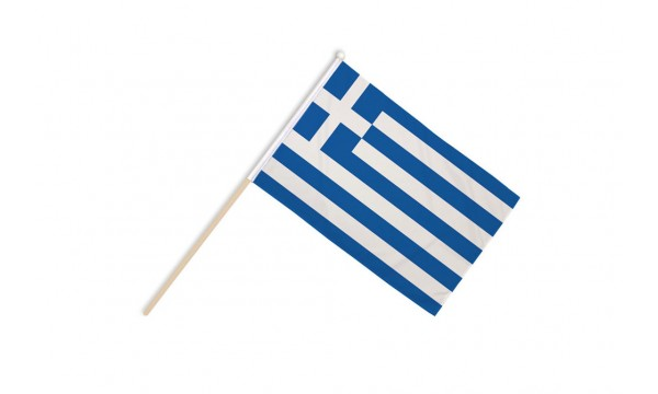 Greece Hand Flags