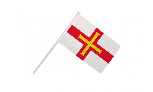 Guernsey Hand Flags