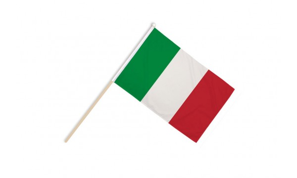 Italy Hand Flags