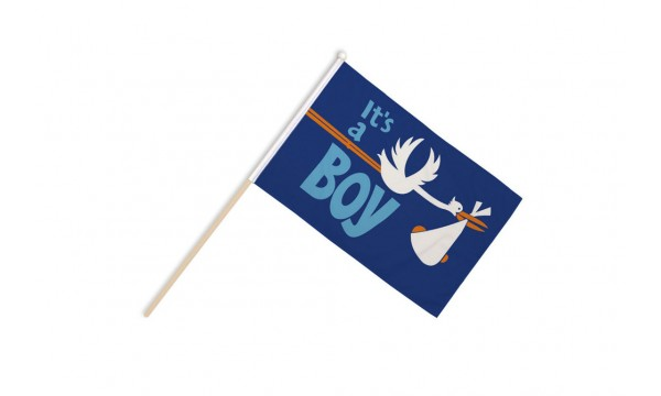 Its a Boy Hand Flags