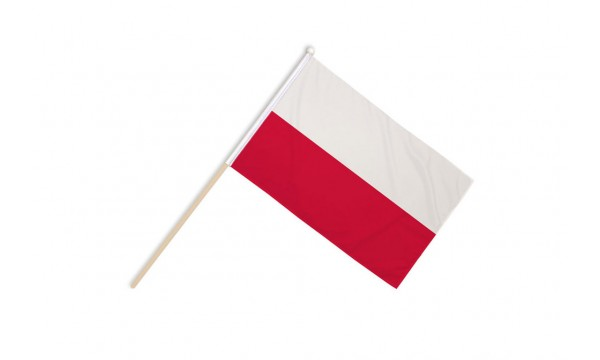 Poland Hand Flags