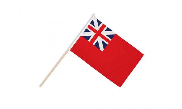 Red Ensign Colonial Hand Flags