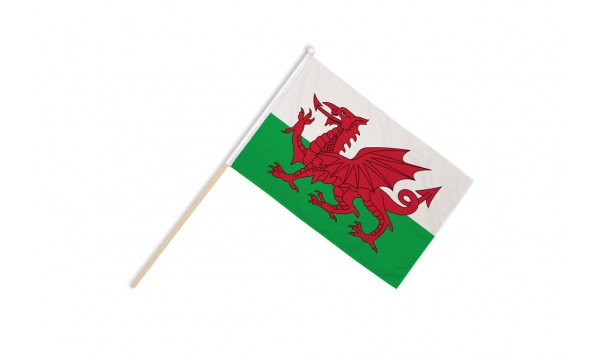 Wales Hand Flags