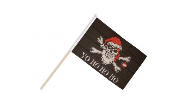Yo Ho Ho Pirate Hand Flags
