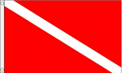 Scuba Diving (Diver Down) Flags
