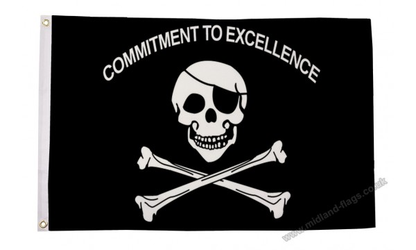 Commitment To Excellence Flag