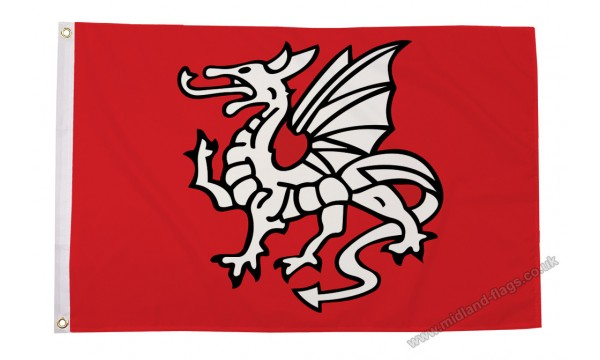 English Pendragon Anglo Saxon Flag (A)