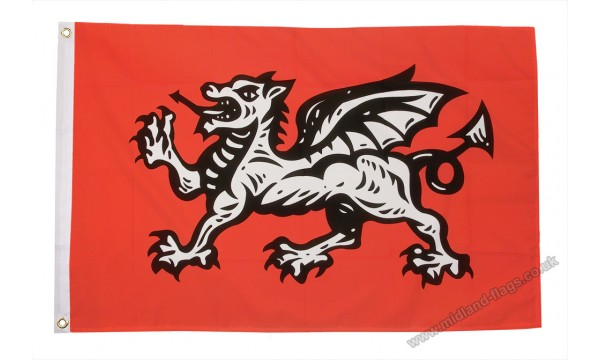 English Wessex Dragon Flag (B)