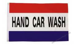 Car Wash 5x3 Flag Cartoon