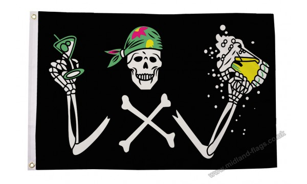 Pirate Beer Flag