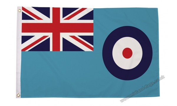 SALE - Heavy Duty RAF Ensign Nylon Flag 30% OFF