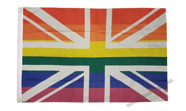 Union Jack Rainbow Flag