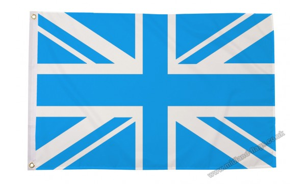 Union Jack Sky Blue Flag (OUT OF STOCK)