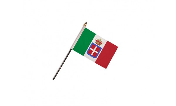 Italy State 1861-1946 Hand Flags