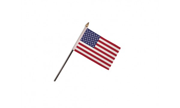 CLEARANCE - USA Hand Flags - 50% OFF