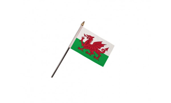 CLEARANCE - Wales Hand Flags - 50% OFF