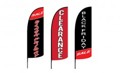 Clearance Feather Flags