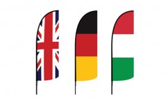 World Countries Feather Flags