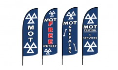 MOT Feather Flags