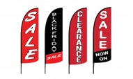 Sale Advertising Flags