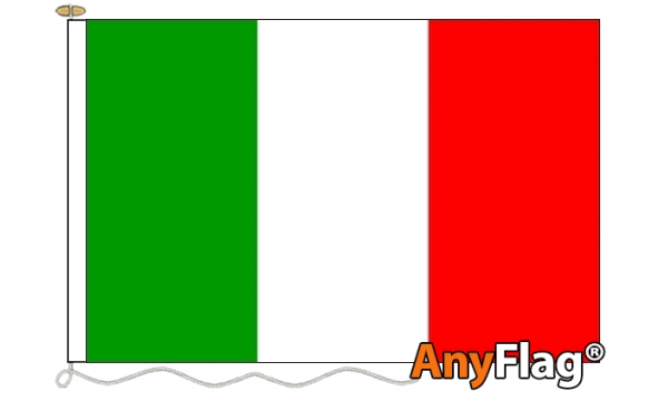 Italy Custom Printed AnyFlag®