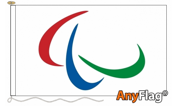 Paralympic Custom Printed 115gsm AnyFlag®