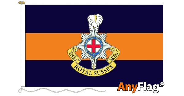 Royal Sussex Regiment Flag Made In The Uk At Midland Flags