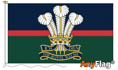 The Royal Welsh Flags