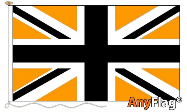 AnyFlag® Union Jack Black & Gold Custom Made Flag