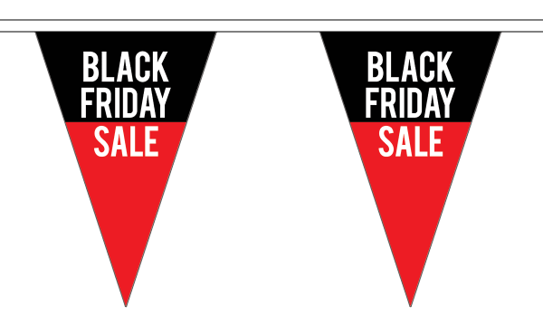 Black Friday Sale Triangle Bunting
