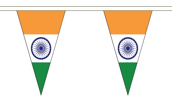 India Triangle Bunting