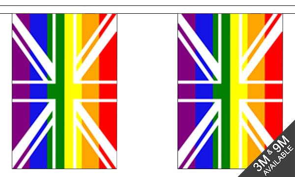 Union Jack Rainbow Bunting