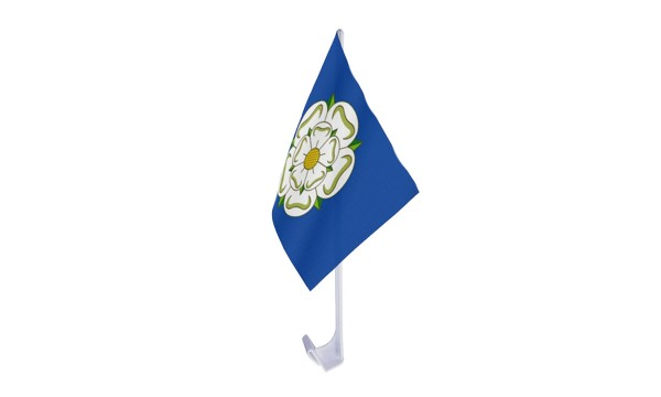 Yorkshire New Car Flag