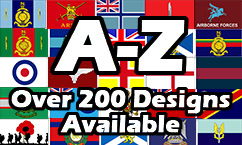 A to Z British Military Flags