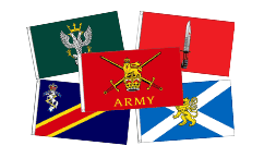 British Army Flags
