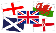 British Nations Flags