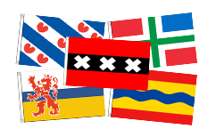 Dutch Regional Flags