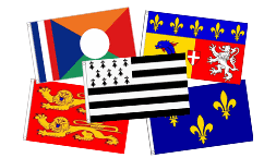 French Regional Flags