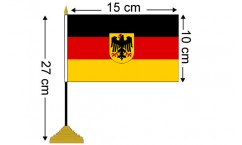 German Table Flags