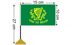 Irish Table Flags