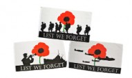 Lest We Forget Flags