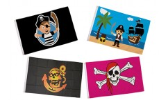 Colourful Pirate Flags