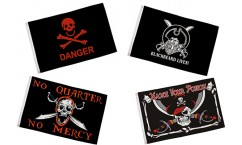 Skull Quote Flags