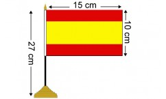 Spanish Table Flags