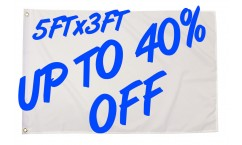 Up to 40% OFF Selected 5ft x 3ft