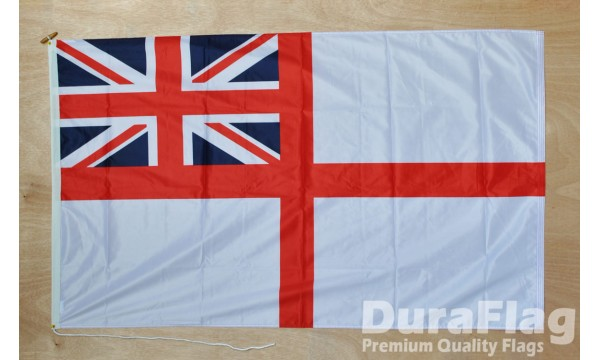 DuraFlag® White Ensign Premium Quality Flag